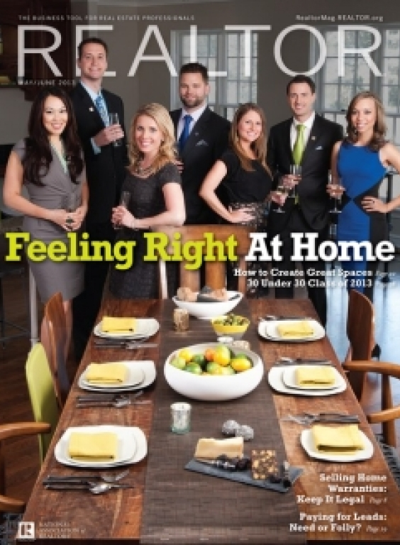 REALTOR® Magazine Cover, May/June 2013