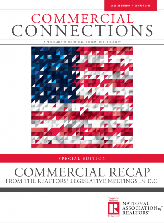 Cover of the 2016 Summer special edition issue of Commercial Connections: Commercial Recap
