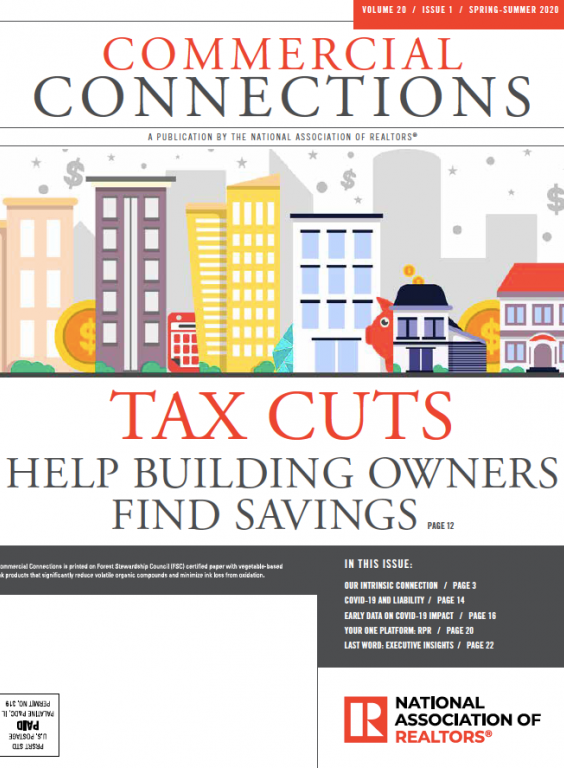 Spring 2020 edition cover of the Commercial Connections publication