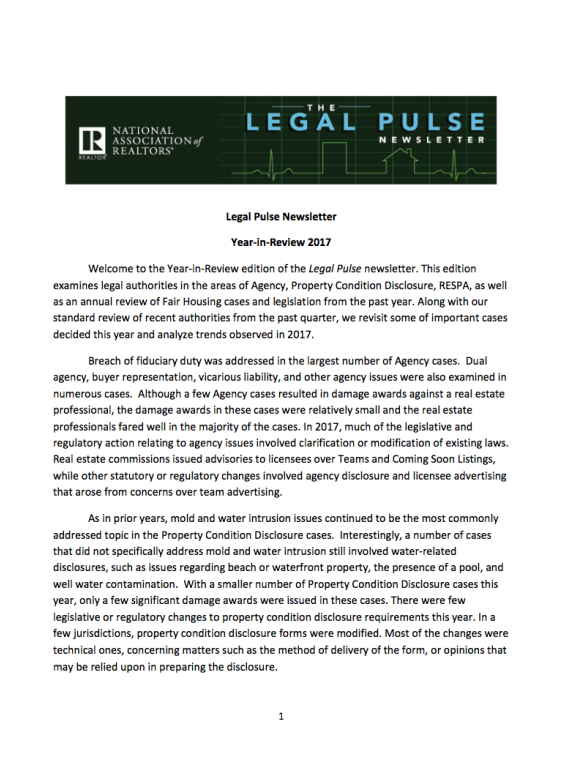 Legal Pulse 4q 2017 Cover