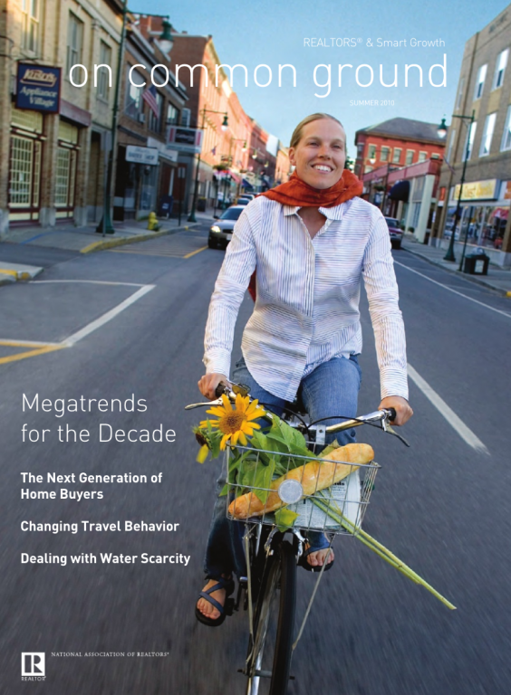 Cover of the 2010 Summer issue of On Common Ground: Megatrends for the Decade
