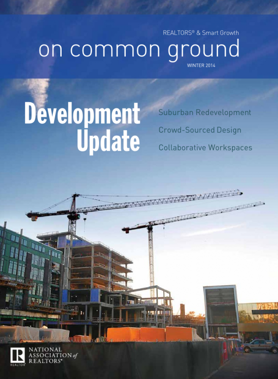 Cover of the 2014 Winter issue of On Common Ground: Development Update