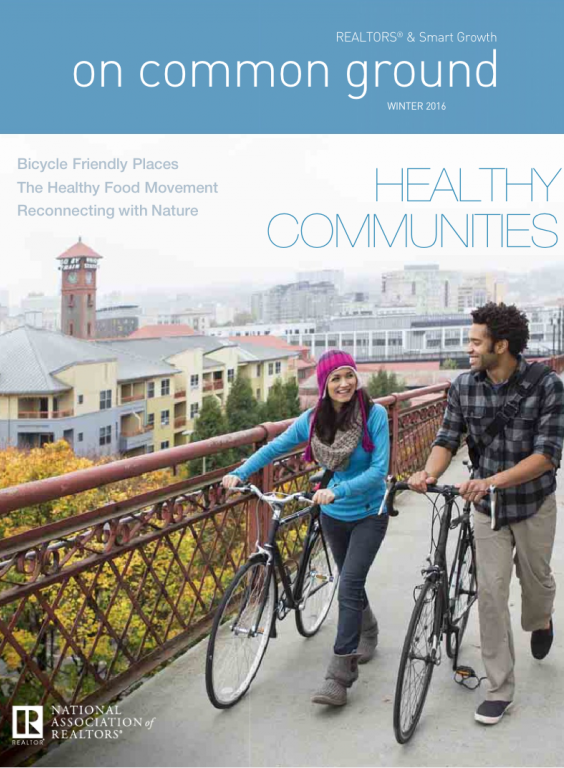 Cover of the 2016 Winter issue of On Common Ground: Healthy Communities