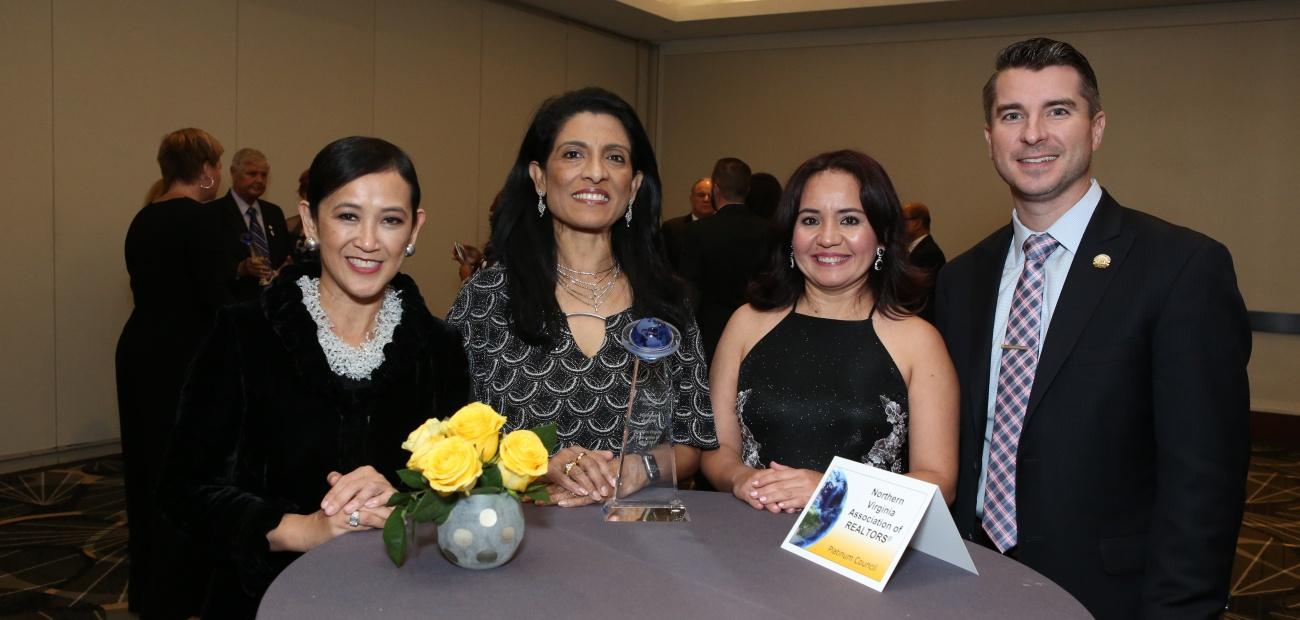 2018 Platinum Global Achievement Award Winners Northern Virginia Association of REALTORS®