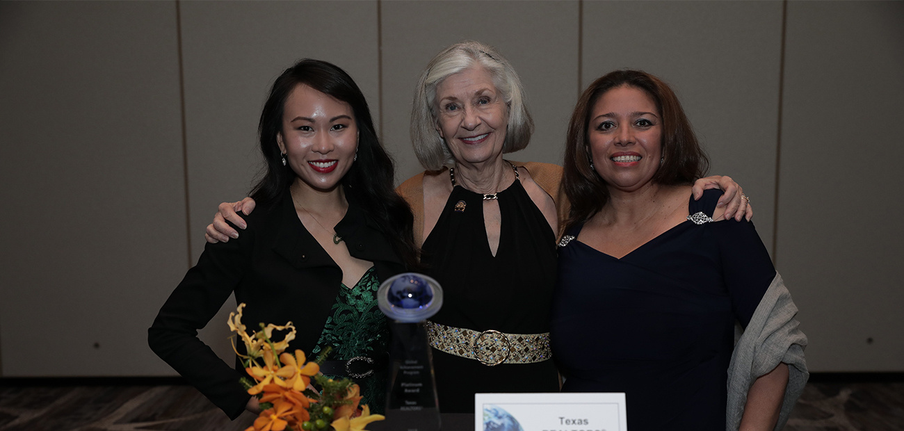 2019 Platinum Global Achievement Award Winners Texas REALTORS®