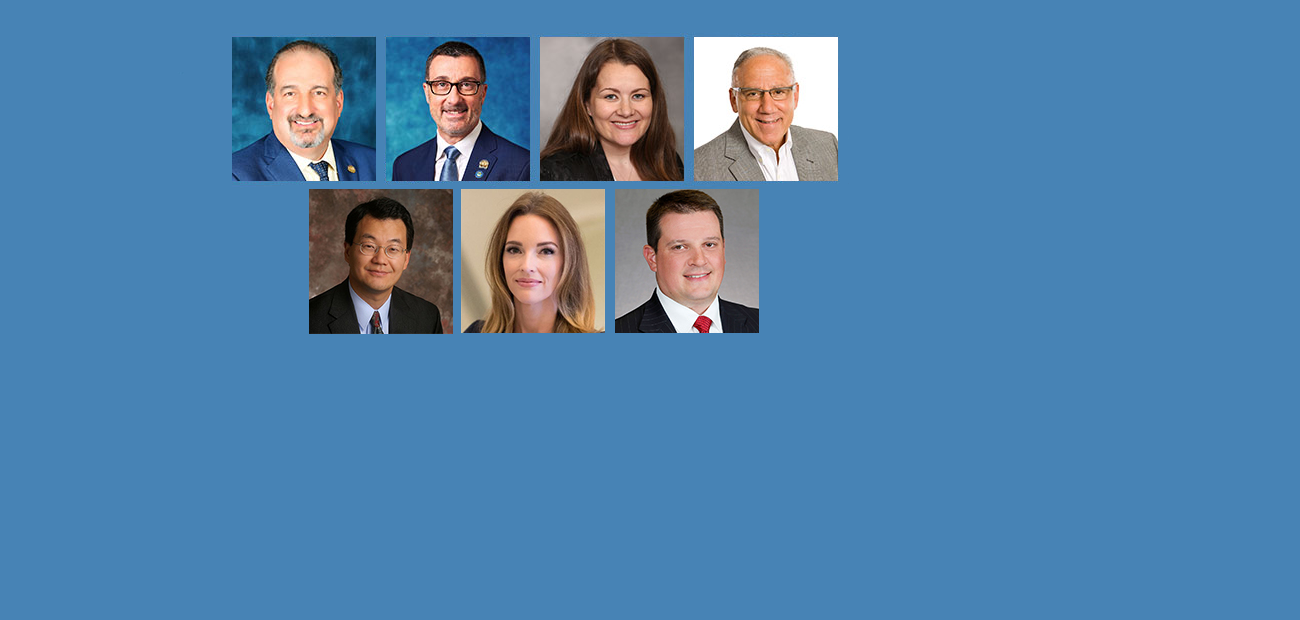 Headshots of NAR Leadership among 2020 Swanepoel Power 200