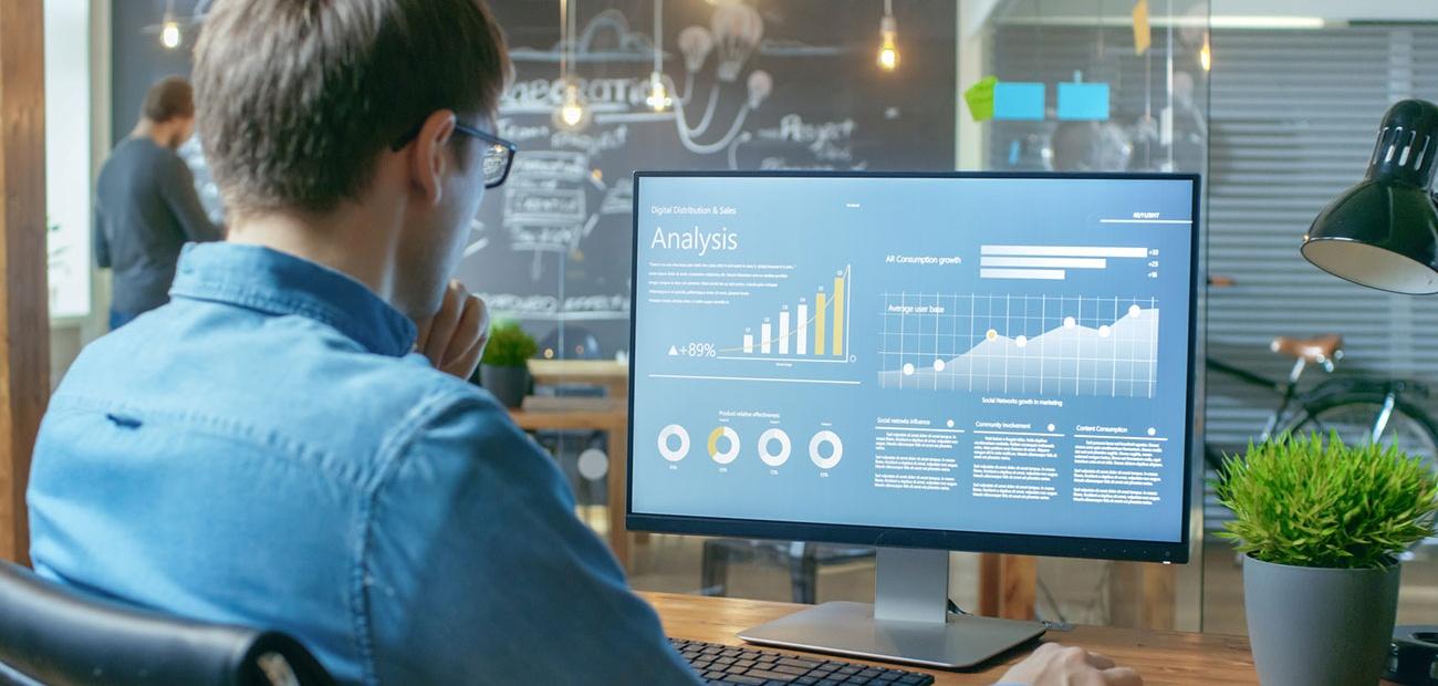 Analysis Data on Screen