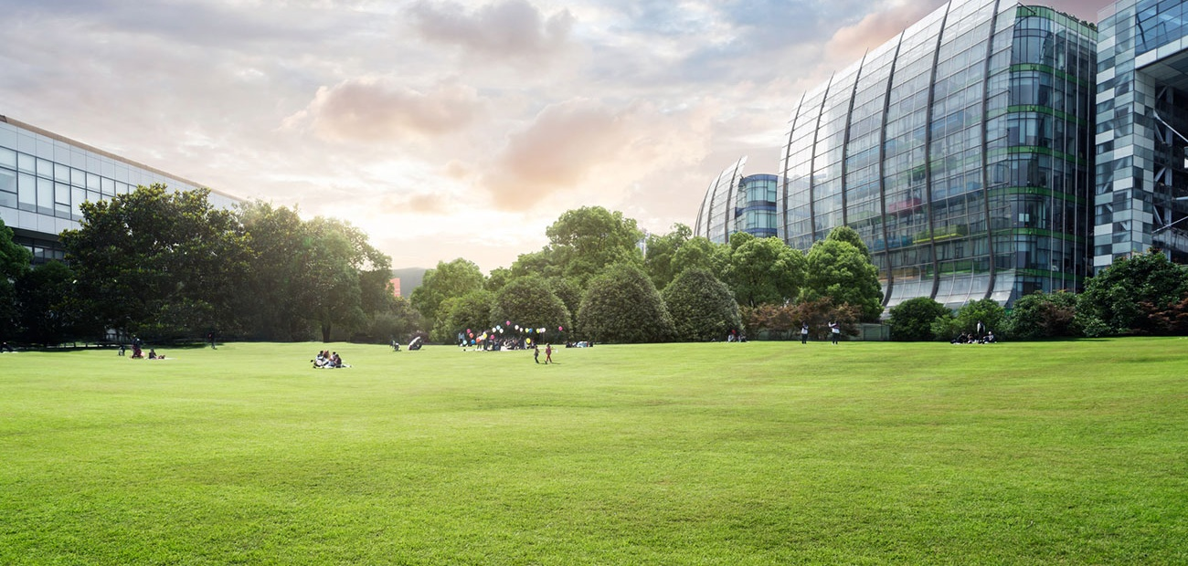 Green Sustainable Office Building in Shanghai
