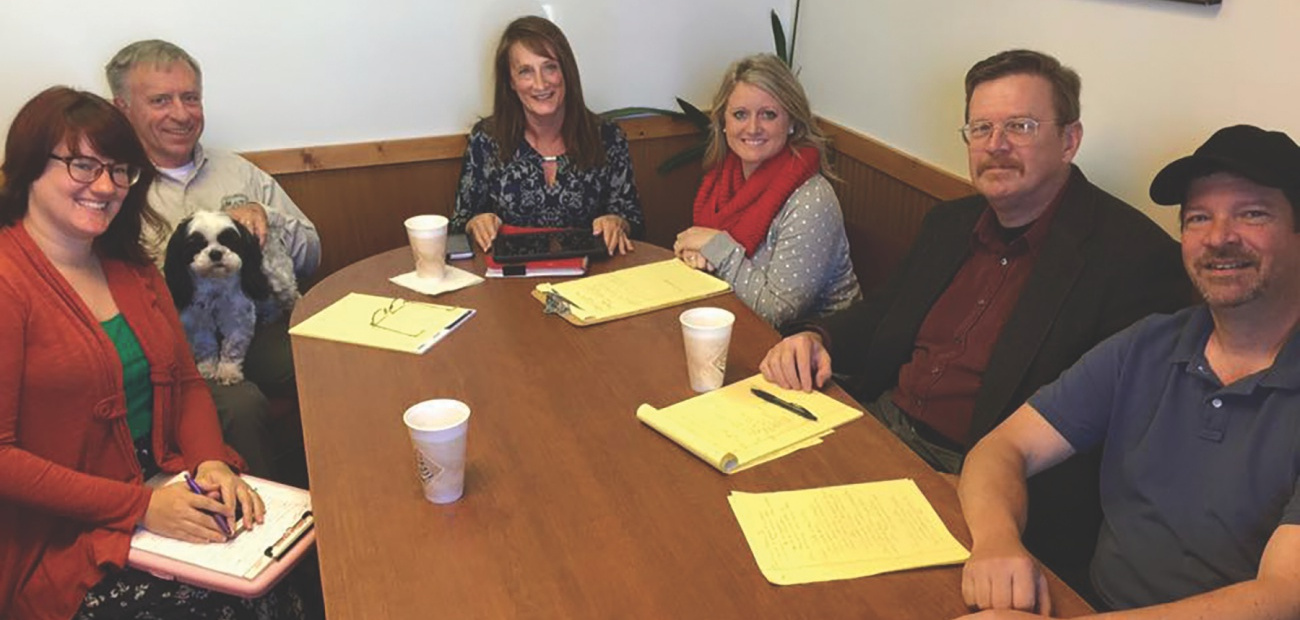 A meeting of the Ashland Board of REALTORS®' 2020 Appraisal Committee