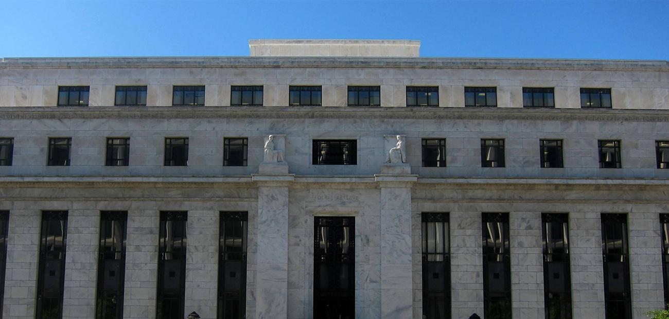 Federal Reserve Eccles Building in Washington, DC