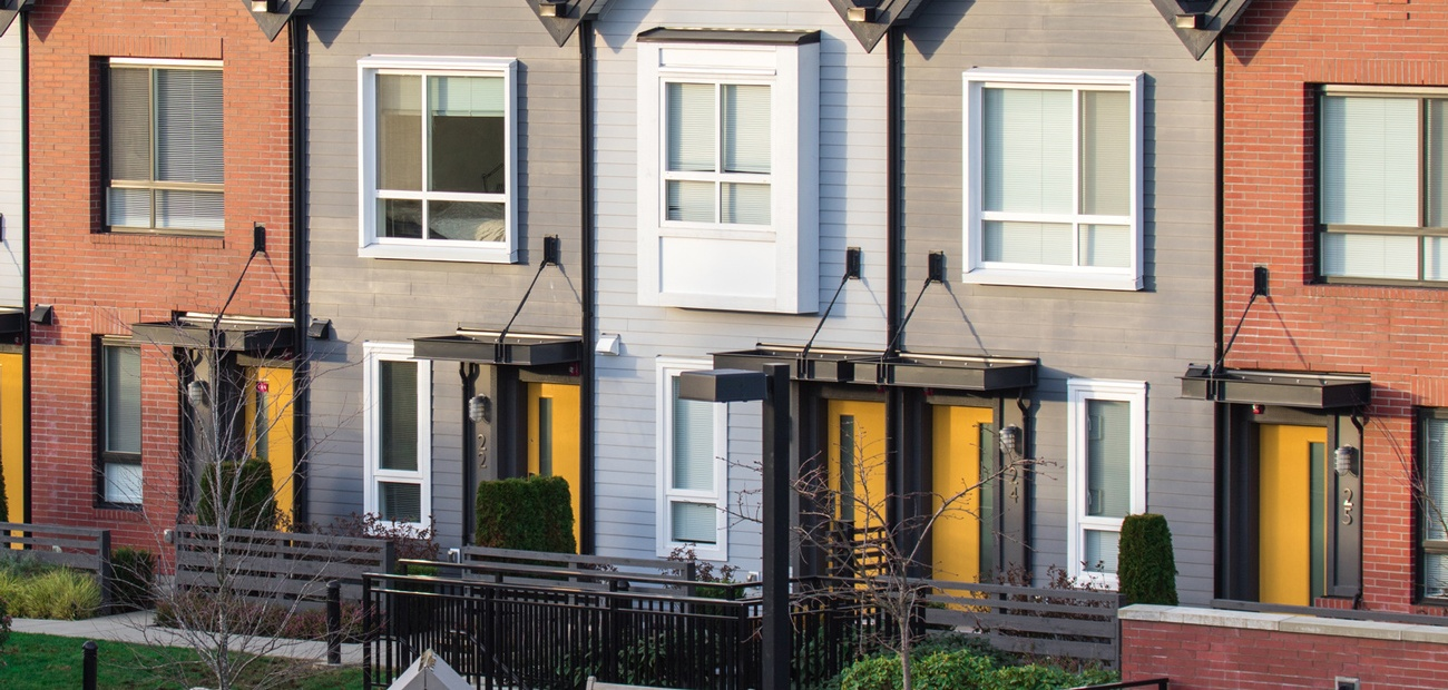 New row homes