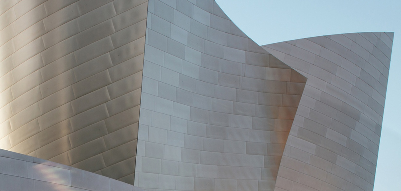 Walt Disney Concert Hall in Los Angeles - Closeup