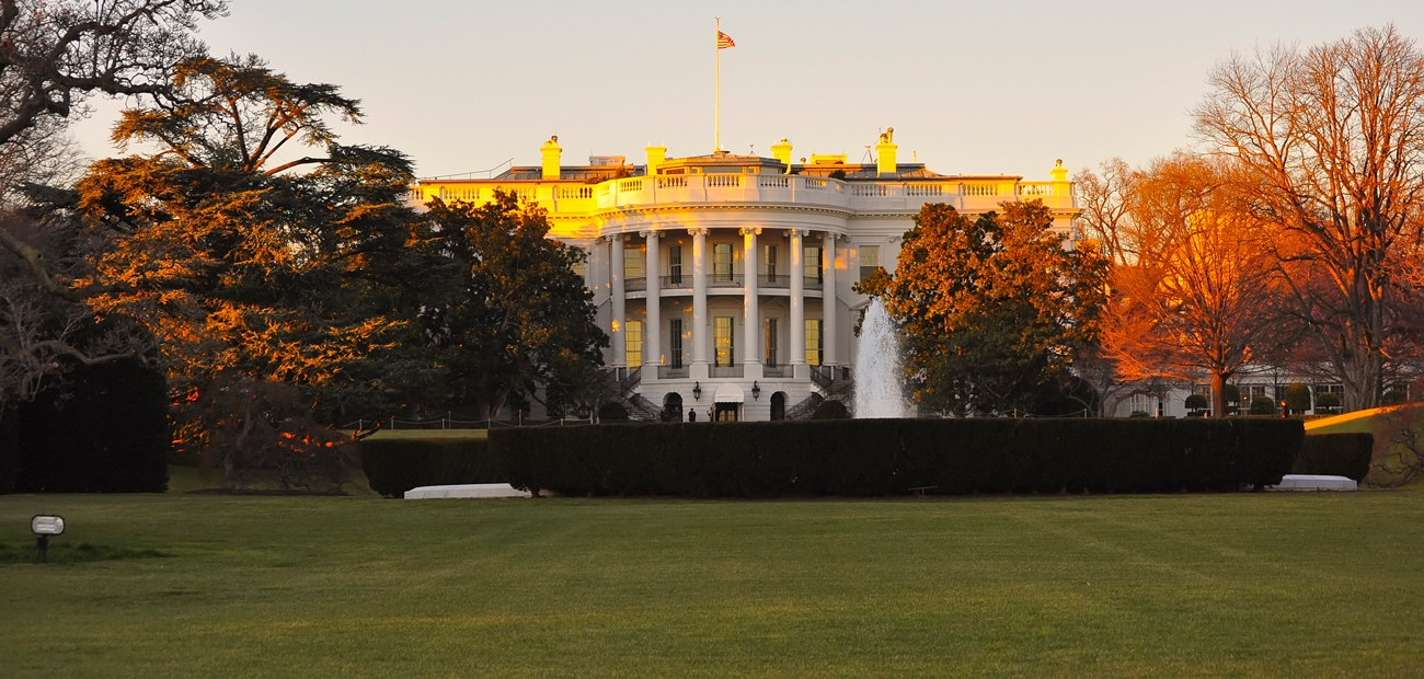 White House in Autumn