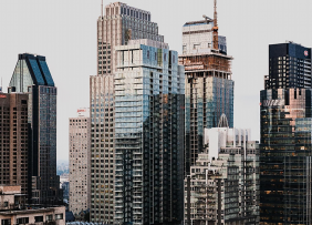 Image from the cover of the Q1 2018 Commercial Real Estate Market Survey