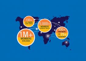 World map: 2019 International REALTOR® Membership