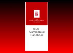 2019 MLS Commercial Handbook