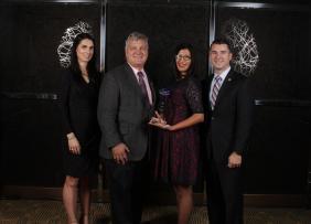 Veronica Seva-Gonzalez, Bob Adamson, Angelica Delboy and Ryan Conrad, CEO