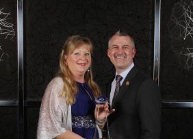 Annalisa Weller and David Bennett, CEO