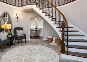 How to Stage a Grand Foyer