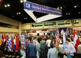 Global networking center at NAR convention and expo