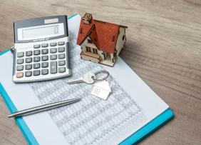 Home Price Calculator Finances Concept