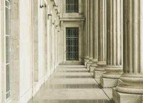 Legal Court - Columns and Hallway