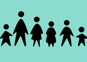 Multi-generational family concept illustration