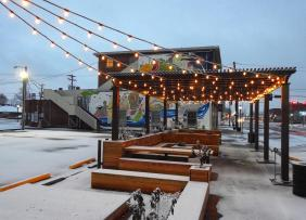 A vacant island turned into a beautiful gathering place for the entire community in Henderson, KY