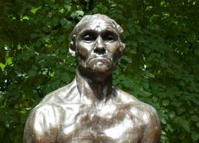Sad Angry Statue