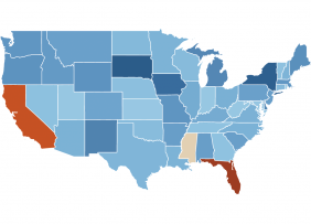 Map: Tracking Jobless Claims, Week Ending May 30, 2020