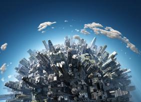 Urban growth globe