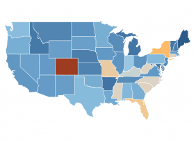 Map: Weekly Jobless Claims in the U.S.
