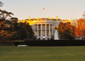 White House in Autumn