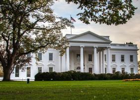 The White House, in Washington, DC