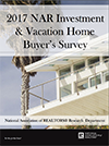 Investment and Vacation Home Buyers Survey Cover