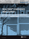 Cover of the August 2018 REALTORS® Confidence Index