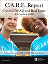 Cover of the report on Community Aid and Real Estate