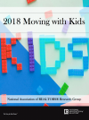 Cover of the 2018 Moving With Kids report