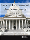 Cover of the 2019 Federal Government Shutdown Survey
