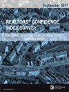 Cover of the September 2017 REALTORS® Confidence Index