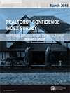 Cover of the March 2018 REALTORS® Confidence Index