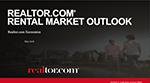 Cover of Danielle Hale's presentation slides: Realtor.com Rental Market Outlook