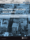 Cover of the May 2018 REALTORS® Confidence Index