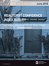 Cover of the June 2018 REALTORS® Confidence Index