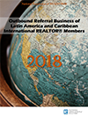 Cover of the 2018 Outbound Referral Business of Latin America and Caribbean International REALTOR® Members