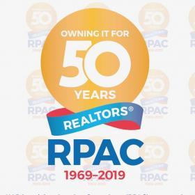 RPAC 50 years logo