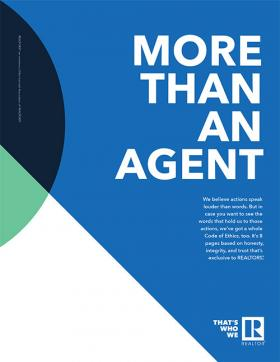 More Than An Agent Print Ad