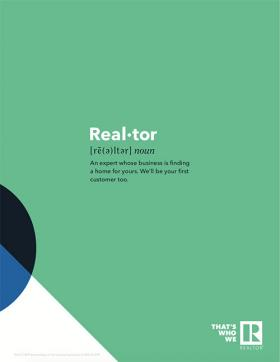 "That's Who We R ""Real-tor"" (Green) Thumbnail"