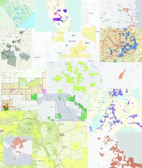 Map of Colorado Opportunity Zones