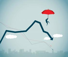 Red umbrella financial downturn